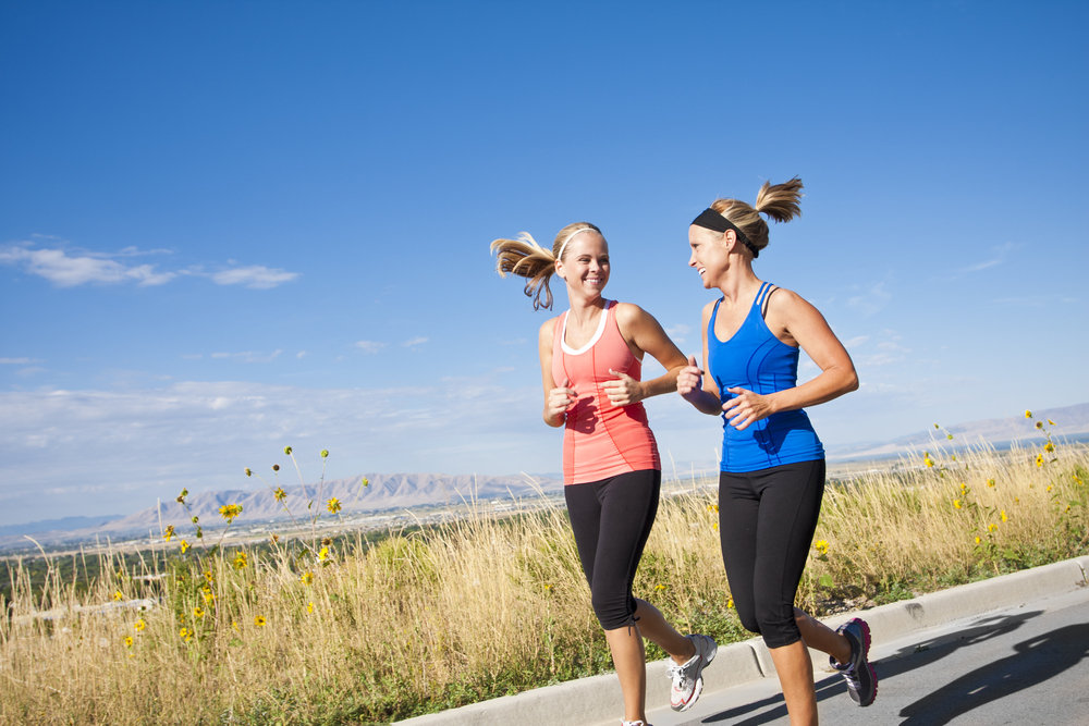 Can you talk while running?